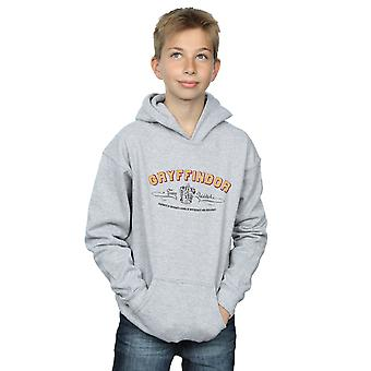Harry Potter Boys Gryffindor Team Quidditch Hoodie