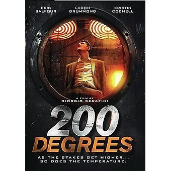 200 grader [DVD] USA importerer