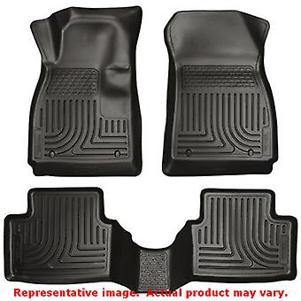 Husky Liners 98291 Black WeatherBeater Front & 2nd Seat FITS:CHEVROLET 2012 - 2