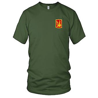 US Army - 227th Field Artillery Brigade Embroidered Patch - Mens T Shirt