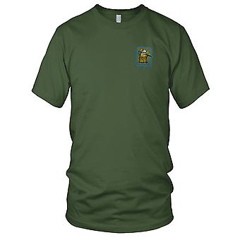 US 190th Assault Helicopter Company 1st Lift Platoon - Pilot Vietnam War Embroidered Patch - Ladies T Shirt