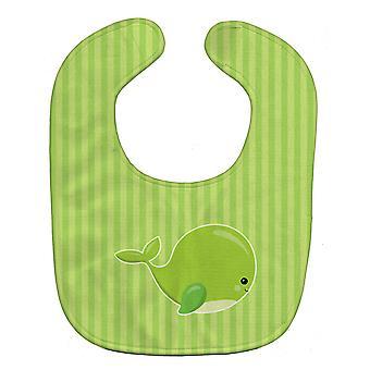Каролинских сокровища BB8881BIB морских китов зеленый ребенок нагрудник