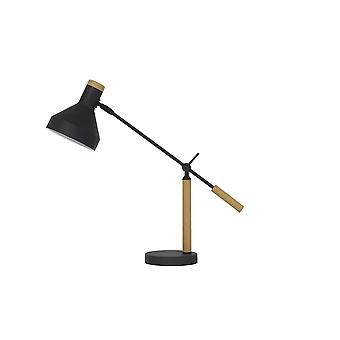 Light & Living Table Lamp 63x15x70 Cm TIFFIN Wood Natural Black