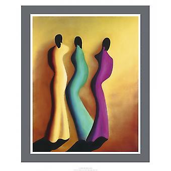 La Dance Poster Print by Patrick Ciranna (20 x 24)