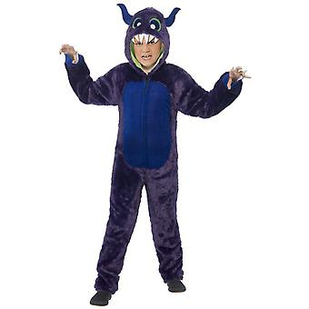 Children's costumes  Purple monster costume deluxe