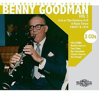 Benny Goodman - Benny Goodman: Vol. 3-Yale Univ Archives [CD] USA import