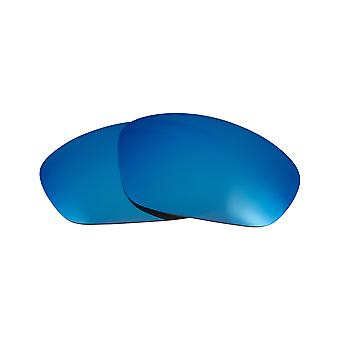 Best SEEK Polarized Replacement Lenses for Oakley STRAIGHT JACKET Blue Mirror