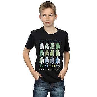 Star Wars Boys Green R2-D2 T-Shirt