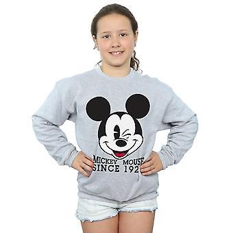 Disney Girls Mickey Mouse Since 1928 Sweatshirt