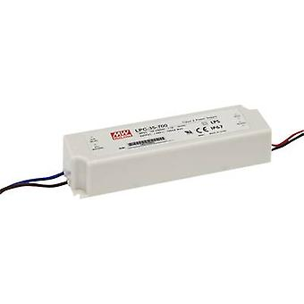 LED driver Constant current Mean Well LPC-35-700 33.6 W (max)