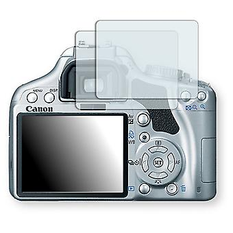 Canon EOS Kiss X 2 screen protector - Golebo crystal clear protection film