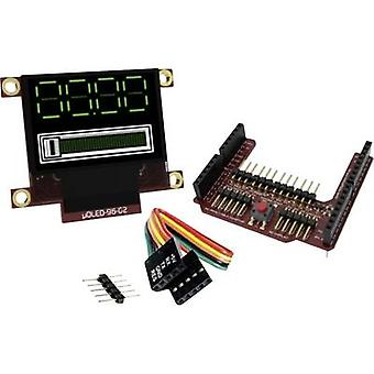 PCB design board 4D Systems uOLED-96-G2-AR