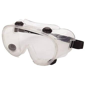 Safety goggles Wolfcraft 4880000 Black