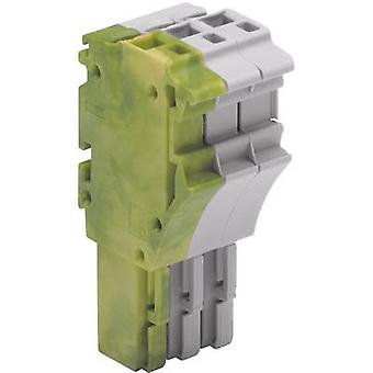WAGO 2022-103/000-037 1 Conductor Clip Connector Series 2022 0.25 - 2.5 mm² Grey, Green-yellow