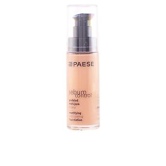 Paese Sebum Control Mattifying And Covering Foundation Make Up Womens