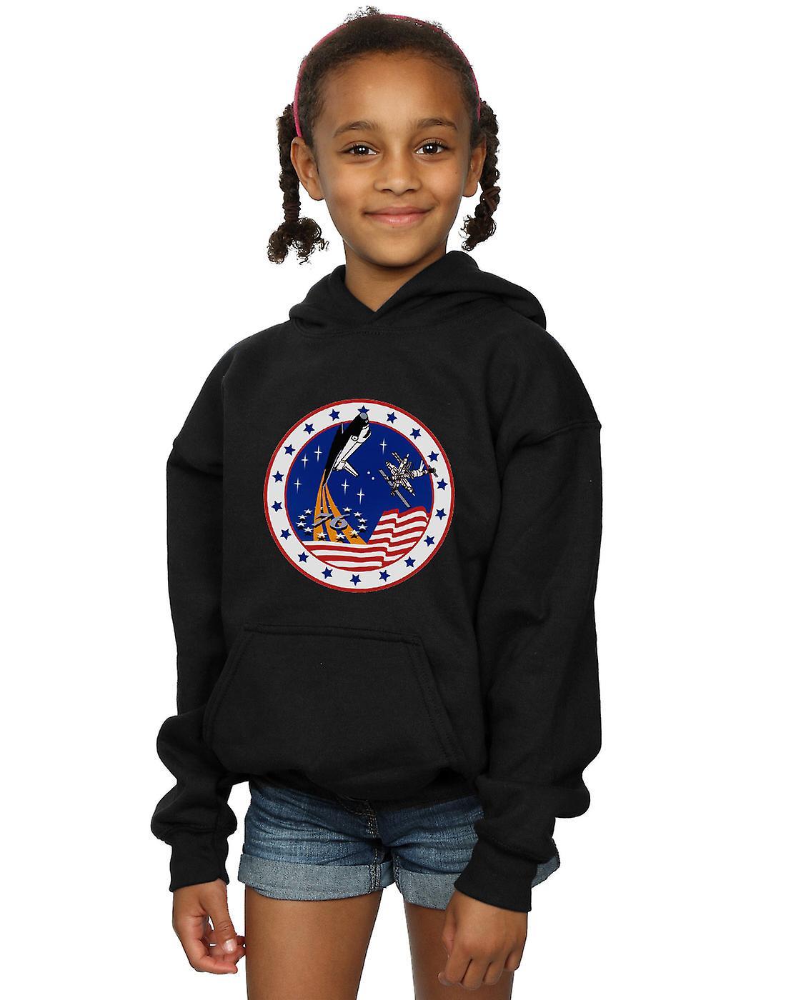 La NASA filles classique Rocket 76 Hoodie