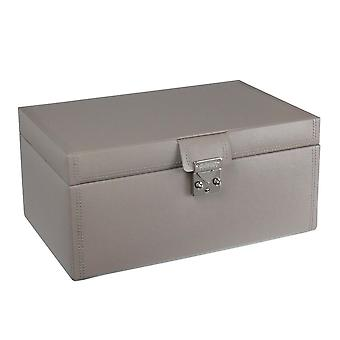 Leather Mink Large Jewellery Box