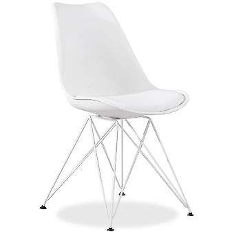 Superstudio Metal Tulip Chair White (Furniture , Dining Room and kitchen , Chairs)