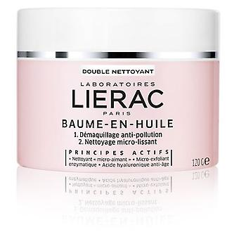 Lierac Makeup-Removing Oil Balm 120 gr  (Cosmetics , Facial , Facial cleansers)