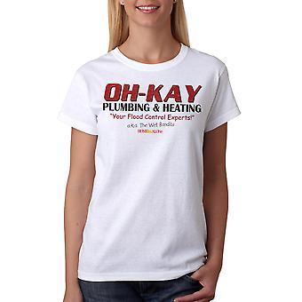 Home Alone Oh-Kay AKA Wet Bandits Women's White T-shirt