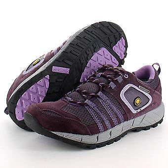 Cotswold Ladies Sevenwells Walking Hiking Shoes Purple