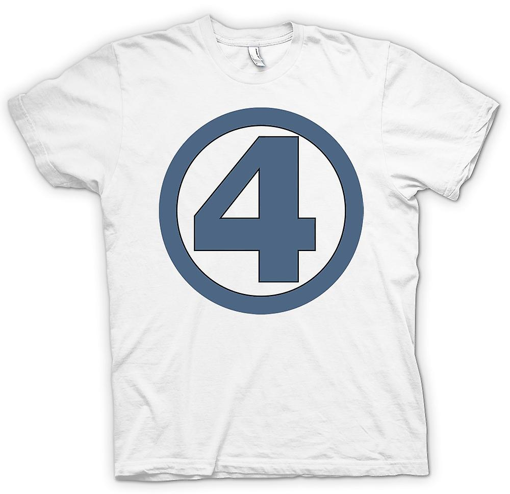 Womens T-shirt - Fantastic 4 Logo - Superhero