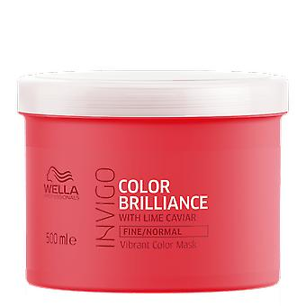 Wella Invigo Color Brilliance Fine/Normal Vibrant Color Mask 500ml