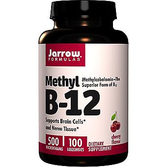 Jarrow Formulas Methyl B-12 500 mcg 100 lozenges