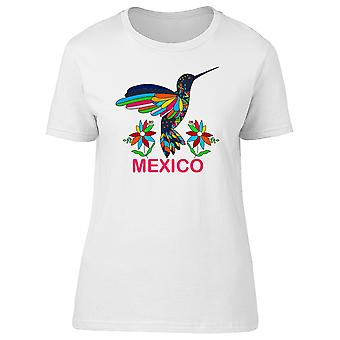 Mexico Floral Hummingbird Tee Women's -Image by Shutterstock