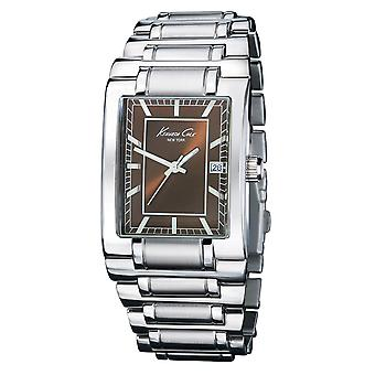 Kenneth Cole New York mænds wrist watch analog rustfrit stål 1035512 / KC3665