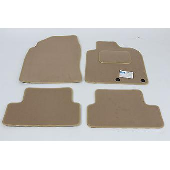 Fully Tailored Car Floor Mats - Nissan QASHQAI 2010-2014 Facelift