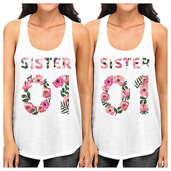 Sister 01 Black Sister Matching Custom Tank Tops Unique Gift Ideas