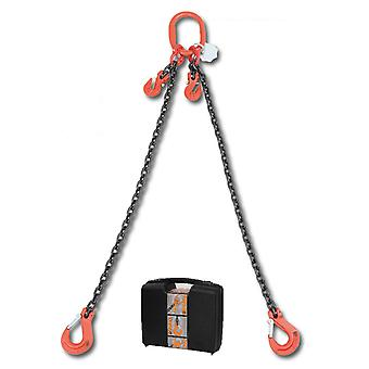 8097/1 C7A Beta Chain Sling 2 Legs And Grab Hook In Plastic Case 7mm 1 Mt