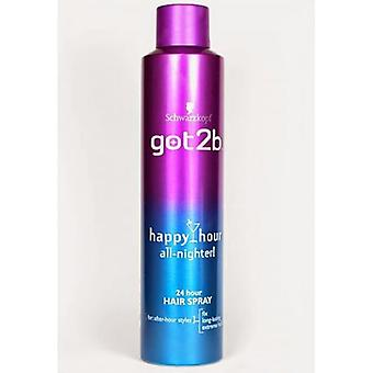 Schwarzkopf Got2b Happy Hour 24 Hour Hairspray