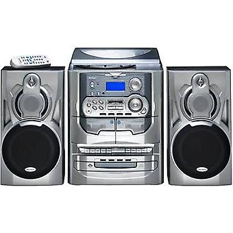 Karcher KA 5300 Audio system CD, Tape, AM, Turntable, FM, 2 x 5 W Silver