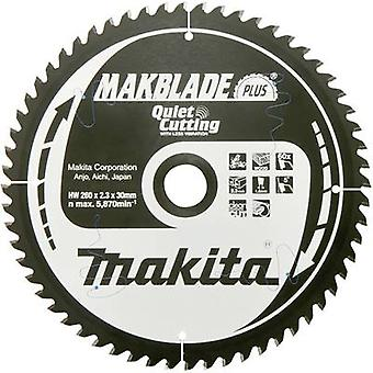 Carbide metal circular saw blade 260 x 30 x 1.8 mm Number of cogs: 40 Makita MAKBLADE B-32487 1 pc(s)