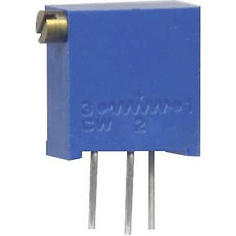 Weltron 001045026255 WEL3296-Z-501-LF Multiturn Trimming Potentiometer 9MM 500R 10% 0.5W 3296Z