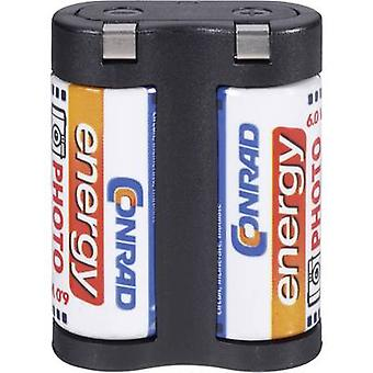 Camera battery 2CR5 Lithium Conrad energy 2 CR 5 1