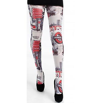 Union Jack Wear I Love London Tights