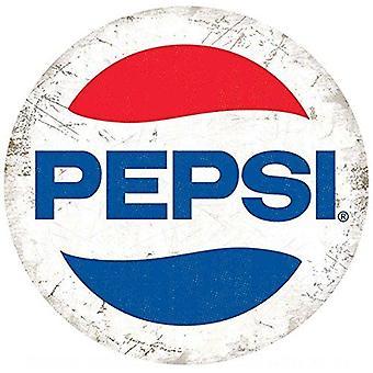 Pepsi Logo rundt stål tegn 300Mm Diameter