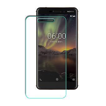 Nokia 6 2018 Displayschutzfolie 9H Verbundglas Panzer Schutz Glas Tempered Glas