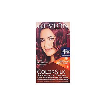 Revlon Colorsilk Tinte #48-borgoña For Women