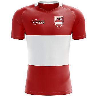 2018-2019 Austria Flag Concept Football Shirt (Kids)