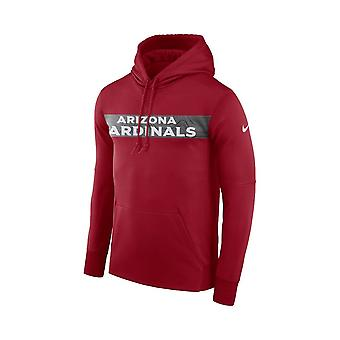 Nike Nfl Arizona Cardinals Therma Po Hood