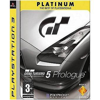 Gran Turismo 5 Prologue Platinum PS3 Game
