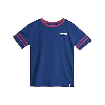 Animal Admiral Blue Marl Squad Toddlers T-Shirt