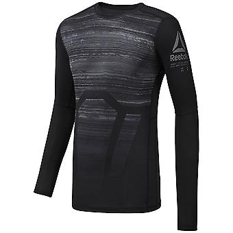 Reebok Activchill Long Sleeve Compression CY4888 training alle Jahre Männer-t-shirt