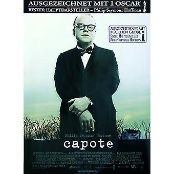Capote poster German main poster (Philip Seymour Hoffman, Catherine Keener)