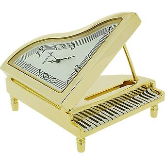Gift Time Products Grand Piano Miniature Clock - Gold