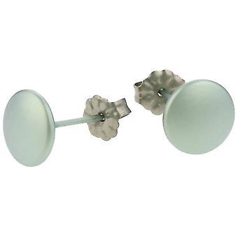 Ti2 Titanium Smartie Stud Oorbellen - hemelsblauw